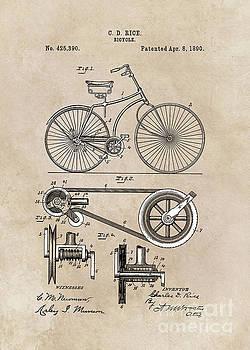 Justyna Jaszke JBJart - patent Bicycle 1890 Rice
