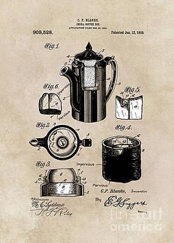 Justyna Jaszke JBJart - patent China Coffee pot  Blanke 1909