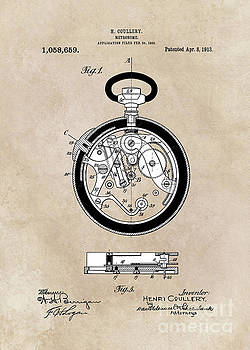 Justyna Jaszke JBJart - patent Coullery Metronome 1908