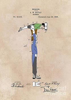Justyna Jaszke JBJart - patent Hammer  Hutaf  1898