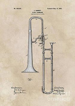 Justyna Jaszke JBJart - patent Hankey Slide Trombone 1902