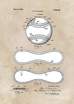 Justyna Jaszke JBJart - patent Maynard Baseball 1927