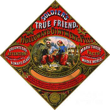Patent Medicine Label 1862 by Padre Art