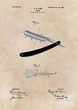 Justyna Jaszke JBJart - patent Razor Korn  1902