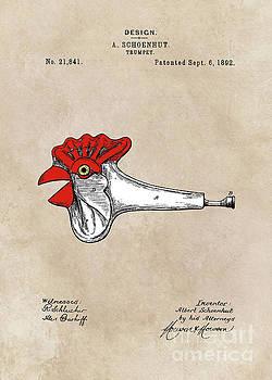 Justyna Jaszke JBJart - patent Schoenhut Trumpet 1892