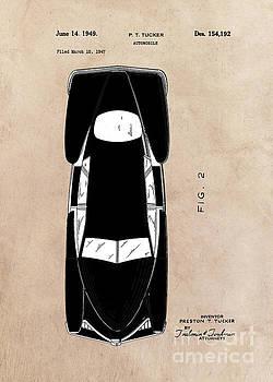 Justyna Jaszke JBJart - patent Tucker Automobile 1949