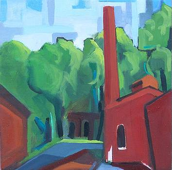 Paterson Mill by Ron Erickson