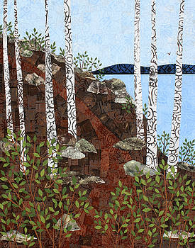 Path by the Lake by Janyce Boynton