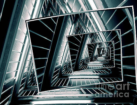 Path of Winding Rails by Phil Perkins