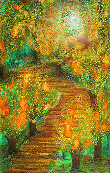 Path to Enlightenment high saturation by Ian Cameron