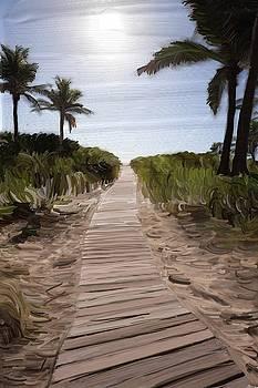Path to South Beach by Alex Moura