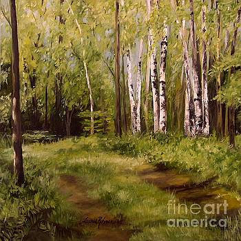 Path to the Birches by Laurie Rohner