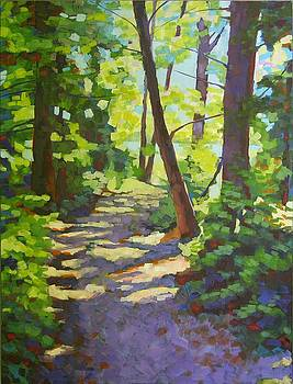 Path to the Lake by Mary McInnis