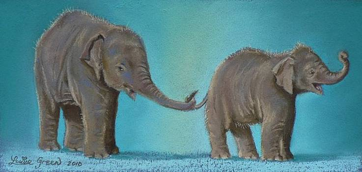 Pathi Harns Tail by Louise Green