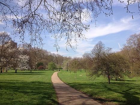 Pathway In A Park by Emmanuel Varnas