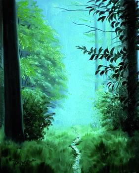 Derek Rutt - Pathway In The Forest