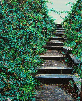 Pathway to Puget Sound 2 by Stephen Ponting