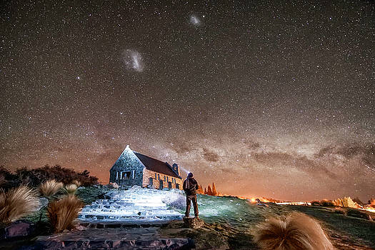 Pathway to the Heavens by Tony Fuentes