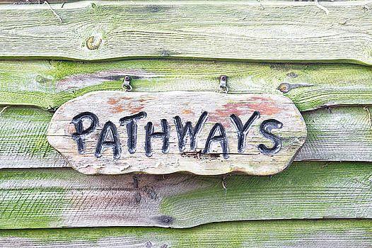 Pathways sign by Tom Gowanlock