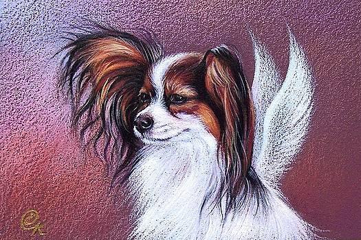 Patient angel  by Elena Kolotusha