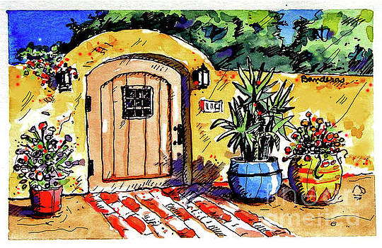 Patio Entrance by Terry Banderas