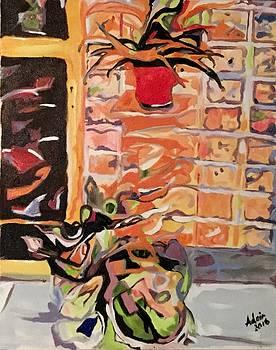 Patio Wall by Adair Robinson