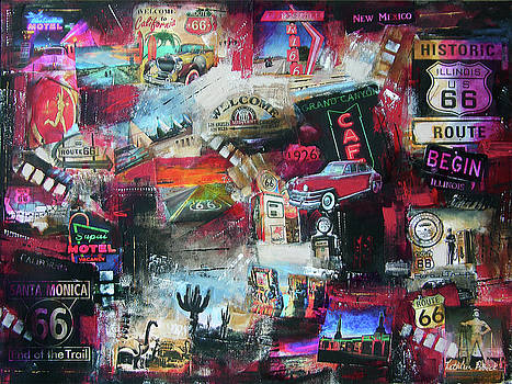 Route 66 - As You Travel by Kathleen Patrick