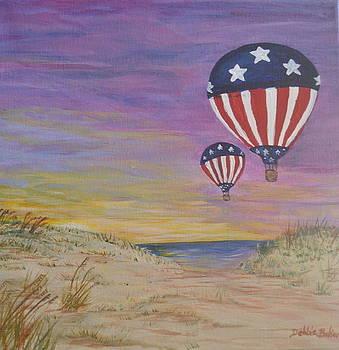 Patriotic Balloons by Debbie Baker