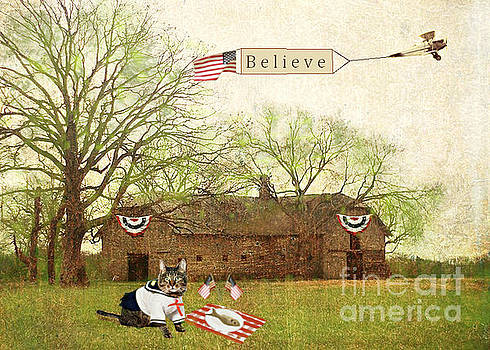 Patriotic Believe by Suzanne Powers