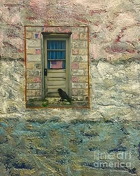 Patriotic Crow by Jennifer Reitmeyer