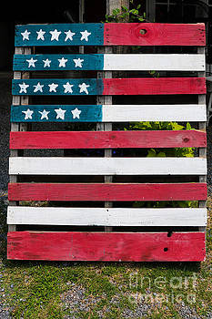 Patriotic Pallets by Thomas Marchessault
