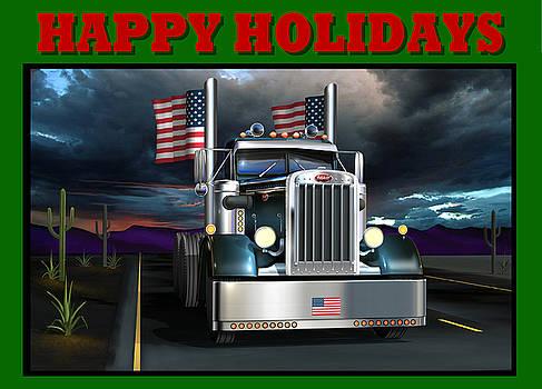 Patriotic Pete Happy Holidays by Stuart Swartz