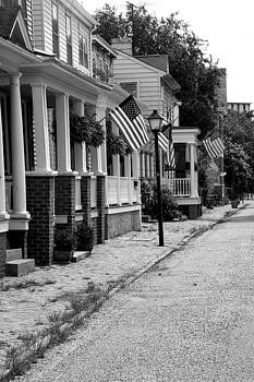 Patriotic Street by Tom McElvy