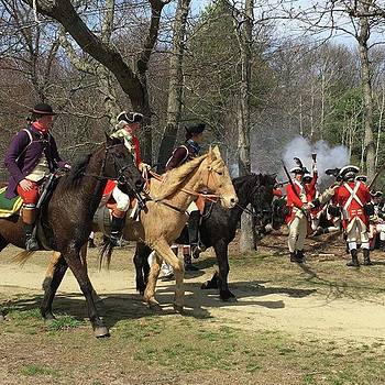 #patriotsday #battleroad #demonstration by Patricia And Craig