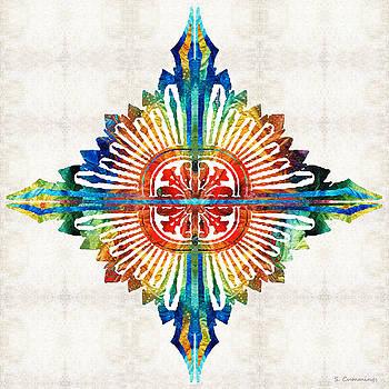Sharon Cummings - Pattern Art - Color Fusion Design 1 By Sharon Cummings