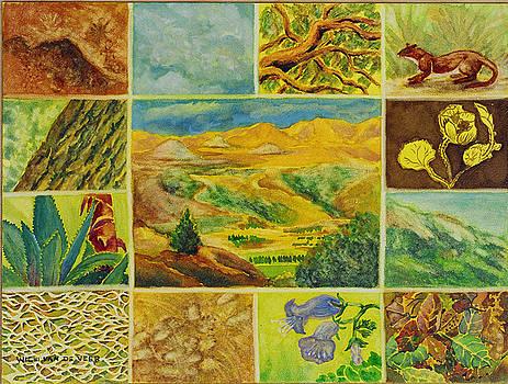 Patterns in Nature Dorland Mountain by Wicki Van De Veer
