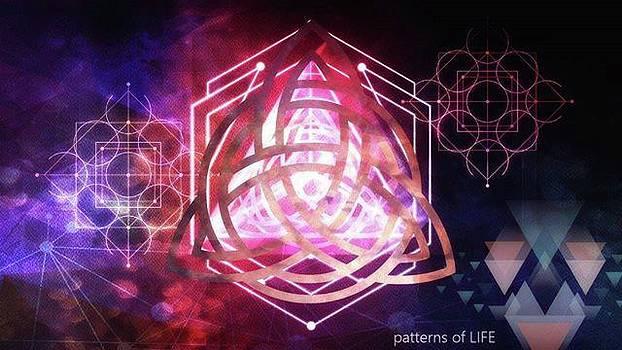 Patterns Of Life  #digitalart #pixlr by Michal Dunaj
