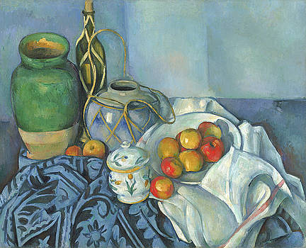 Paul Cezanne - Still Life with Apples by Bishopston Fine Art