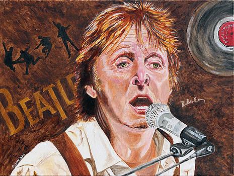 Paul McCartney by Graham Swan