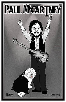 Paul McCartney by John Goldacker