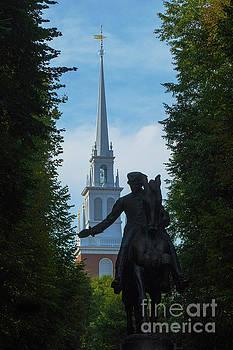 Wayne Moran - Paul Revere Old North Church Boston
