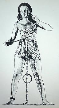 Bryan Bustard - Paula Captive Wild Woman