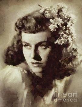 Mary Bassett - Paulette Goddard, Vintage Actress
