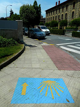 Pavement Marking by Mike Shaw