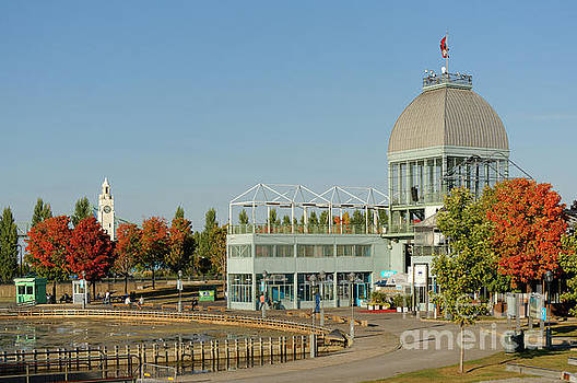 Pavilion in Old Port of Montreal by John  Mitchell