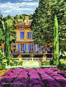 Pavillion De Bidaine by David Lloyd Glover