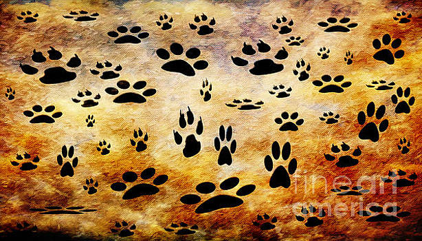Andee Design - Paw Prints