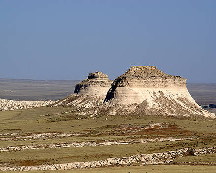 Pawnee Buttes by D Winston