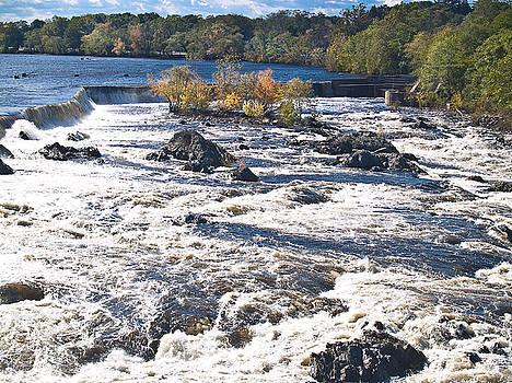 Pawtucket Falls by Michael DelaVega