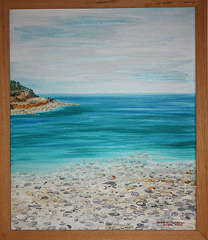 Paxos Island - Beach nr 2 by Anna Witkowska